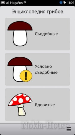 Грибы 1.0.0 (mushrooms)