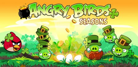 Angry Birds Seasons: St. Patrick's Day