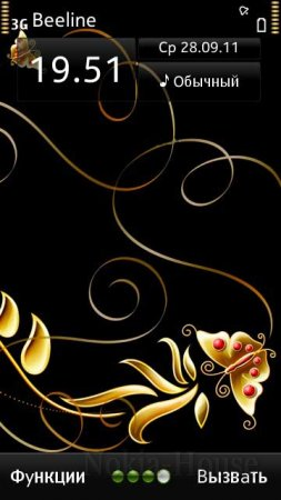 Gold Black by Khawar
